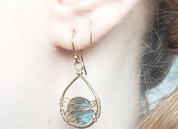 Monica Web Earrings