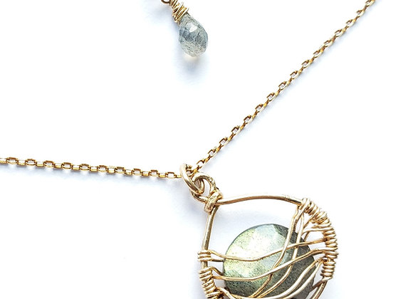 Nashville Web Necklace