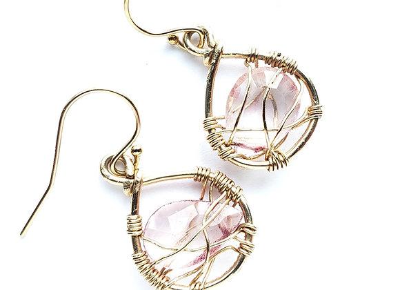 Chloe Web Earrings
