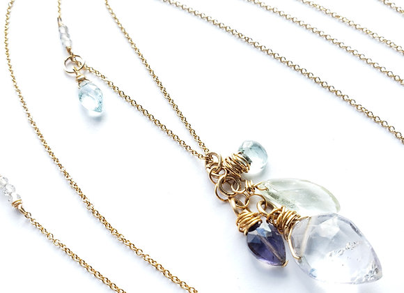 Columbia Cascading Necklace