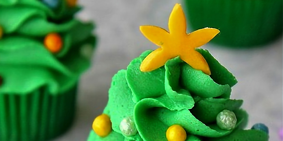 Cupcake Decorating - Christmas!  9.00AM