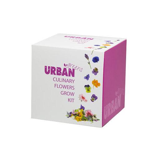 Urban Greens Culinary Flowers Grow Kit