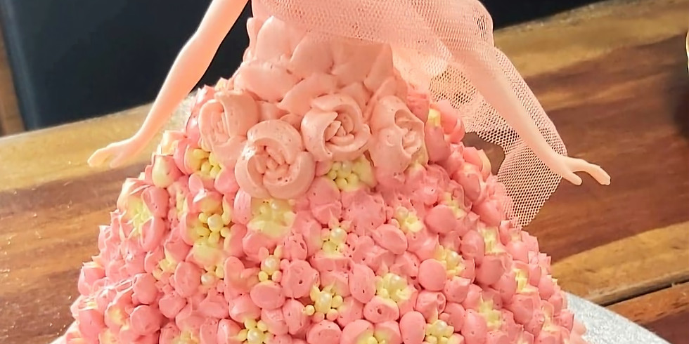 Dolly Cakes : Fancy frills & flowers