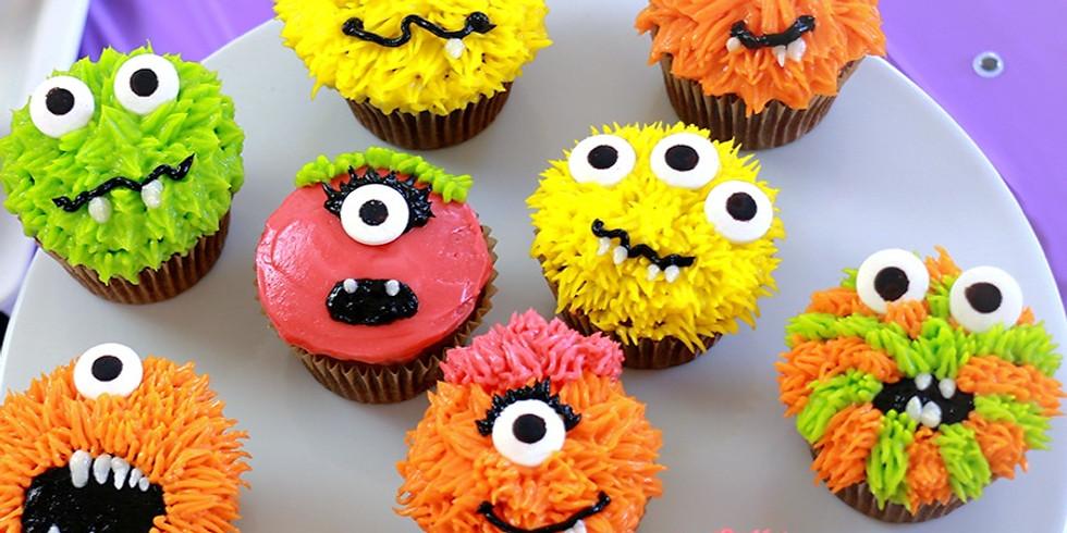 Monsters & Aliens Cupcake Decorating