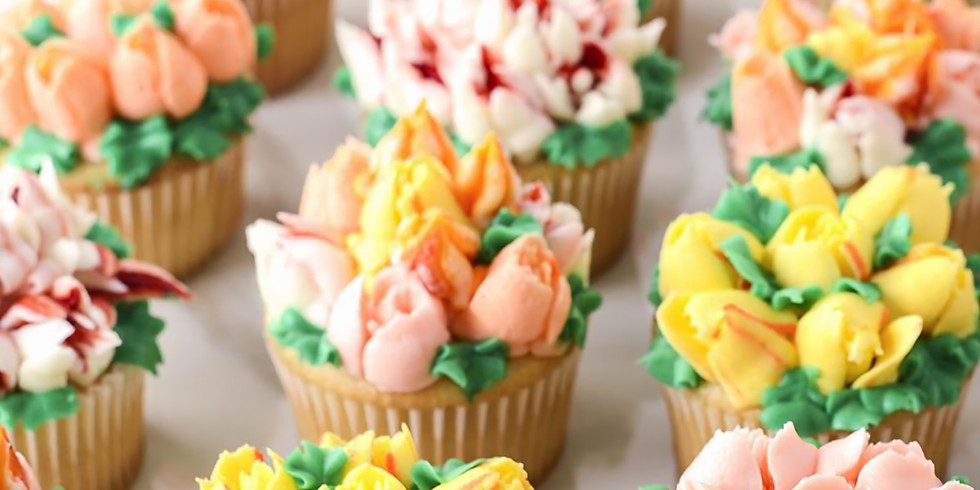 Cupcake Decorating - Pipe a posy!