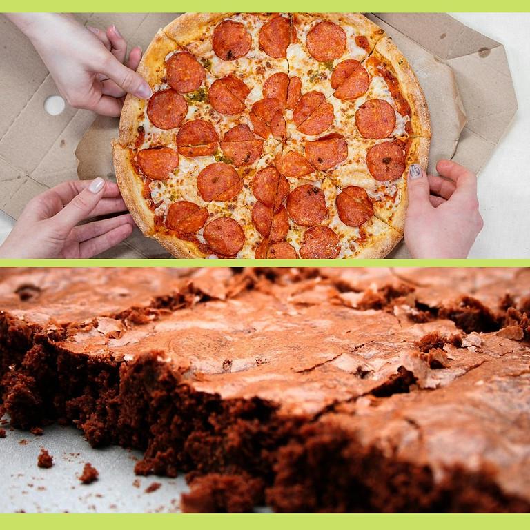 TEEN WORKSHOP: Pizza & Brownies