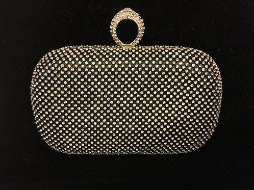 Diamant clutch veske