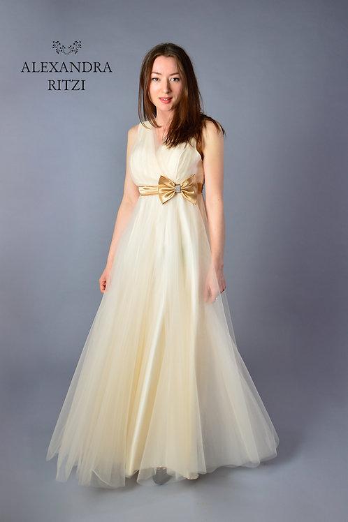 Enkelt ballkjole/konfirmasjon kjole