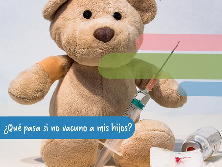 ¿Qué pasa si no vacuno a mis hijos?