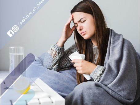 ¿Cómo puedo diferenciar si es influenza o es COVID19?