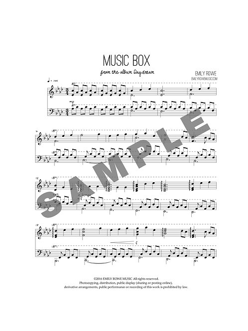 Music Box (Piano Solo)