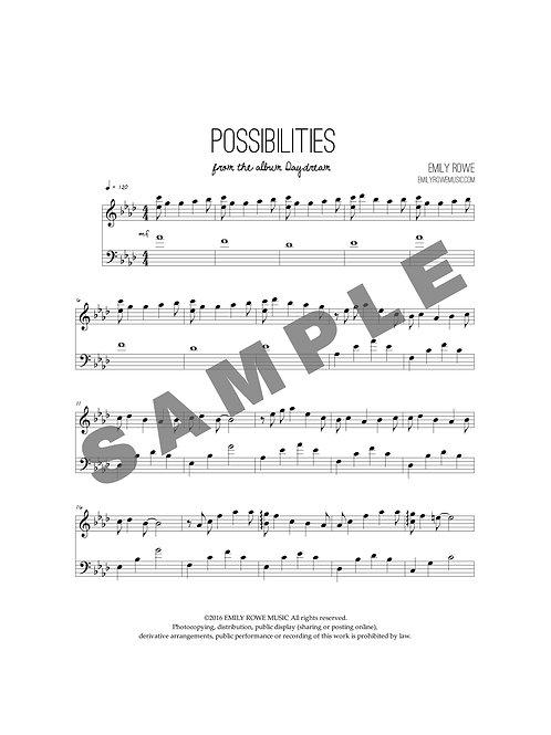 Possibilities (Piano Solo)