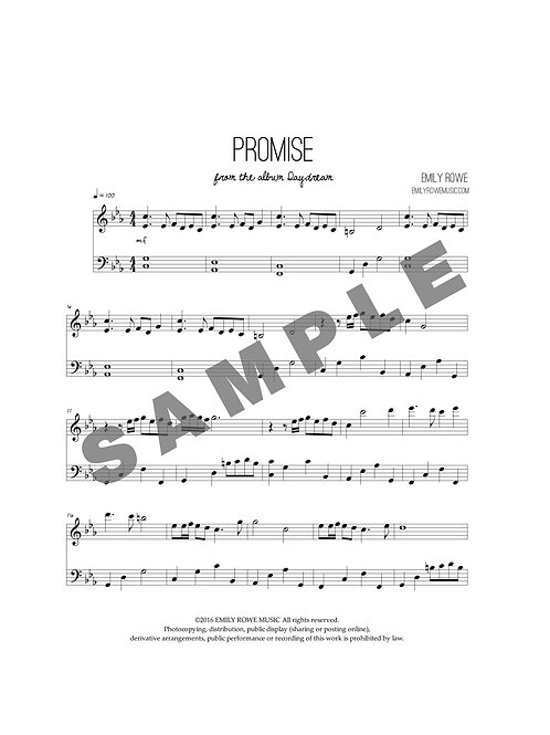 Promise (Piano Solo)