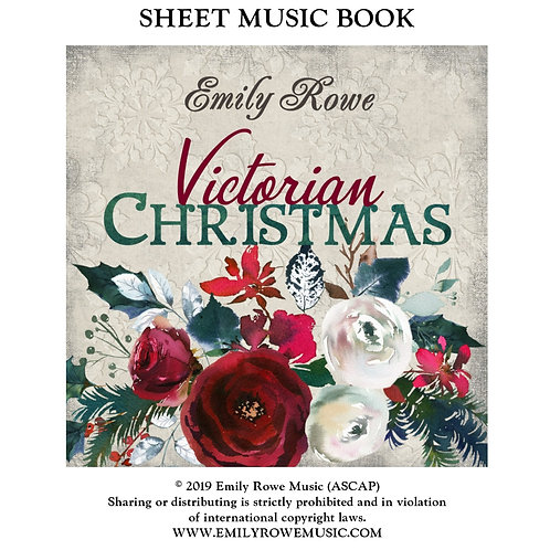 Victorian Christmas Sheet Music Book PDF DOWNLOAD (30 pages)