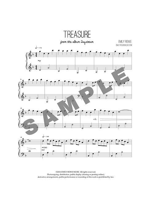 Treasure (Piano Solo)