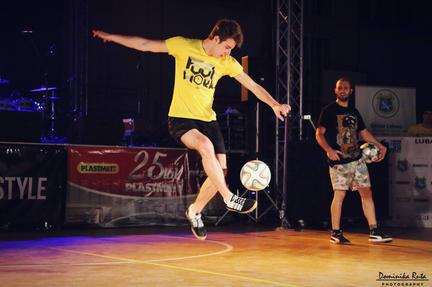 football freestyler rome calcio freestyl