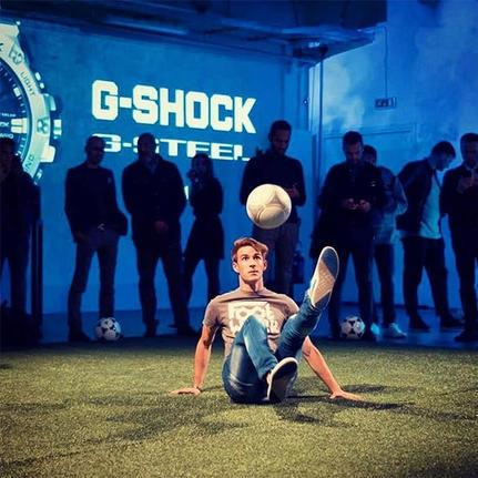 football freestyle performance milan rom