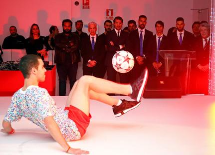 football freestyle show madrid espectác