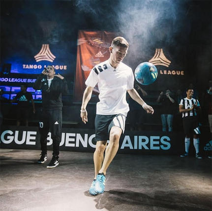 Buenos aries futbol freestyle show footb