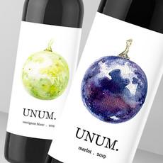 UNUM wine label
