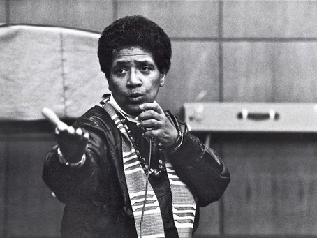 Audre Lorde, Warrior Poet.