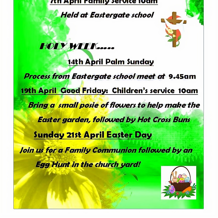 Services for all the Family at St Georges, Eastergate