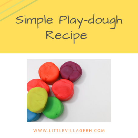 Super Simple Play-dough in minutes!