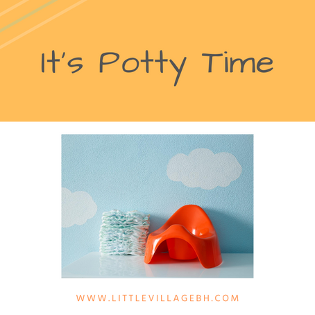 It's Potty Time!