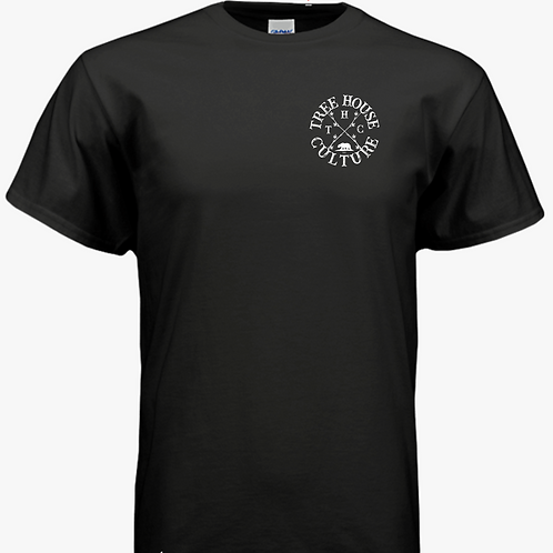 Black tee W/ THC logo
