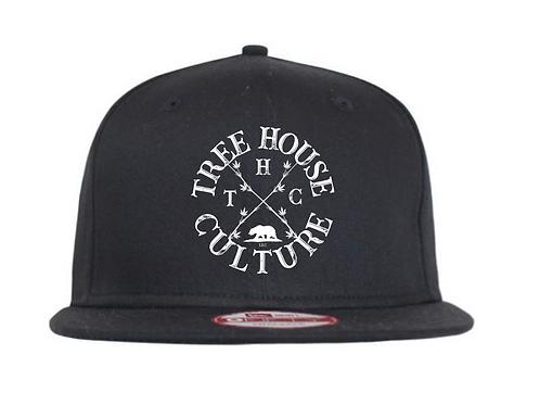 Black THC Snapback W/ THC logo