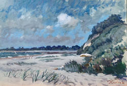 The Beach at Steamer Point 28 x 40 board