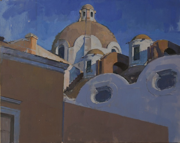 The Dome of Santo Stefano, Capri