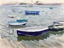 Boats at Noss Mayo