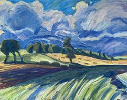 'Dark Clouds over Marlsford'
