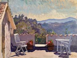 Casoli from the Roof Terrace, Abruzzo
