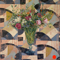 Peonies Abstract 1928