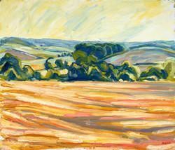 'Corn stubble off the ridgeway'
