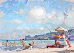 On the Beach at Ortona