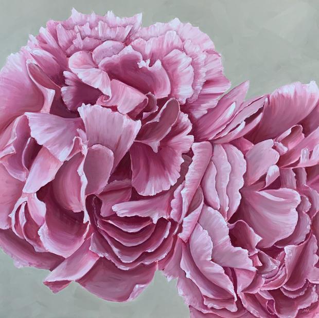Dusky Pink Peonies