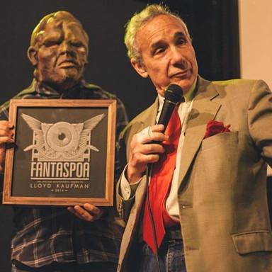 Lloyd Kaufman no Fantaspoa