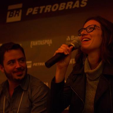 Santiago Dellape e Bianca Müller