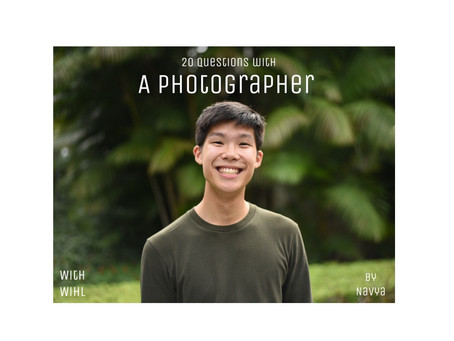 20 Questions with a photographer