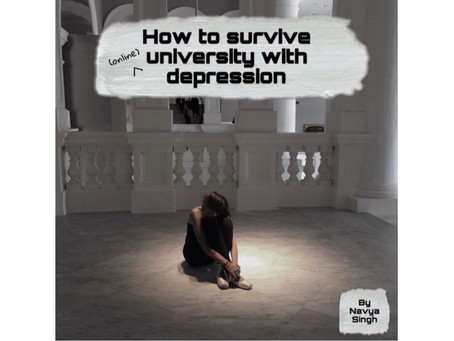 How to survive university with depression