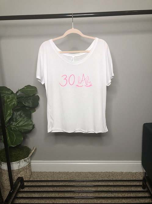 Rose Slouchy Scoop Neck