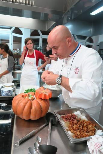Atelier cuisine avec Olivier NASTI