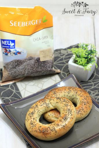 Bagels aux graines de Chia