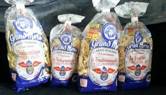 Nouveau partenariat : Les pâtes d'Alsace Grand mère