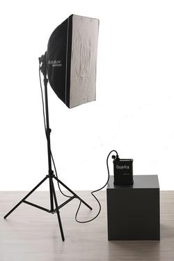 Boîte à lumière avec diffuseur
