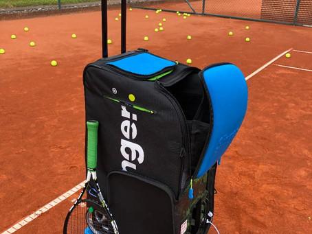 Neue Ballmaschine für die Tennisabteilung