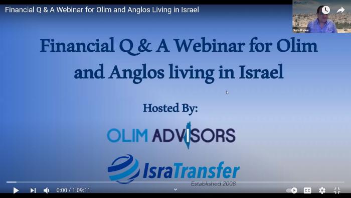 financial aliyah